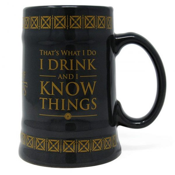 GAME OF THRONES – Le Trône de fer chope céramique Drink & Know Things