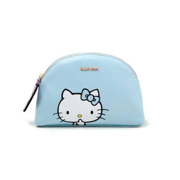 Hello Kitty Porte-monnaie / trousse de toilette Blue Kitty