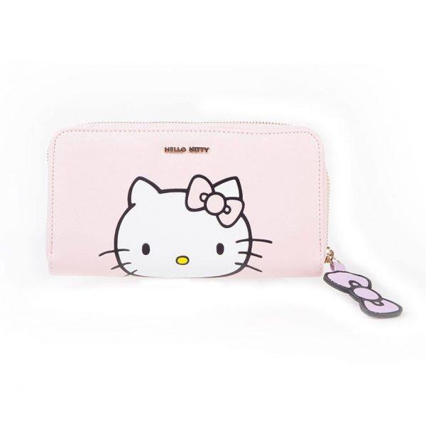 KAWAII – Hello Kitty porte-monnaie femme Pink Kitty