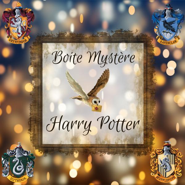 Box Mystère Harry Potter (pré-vente)