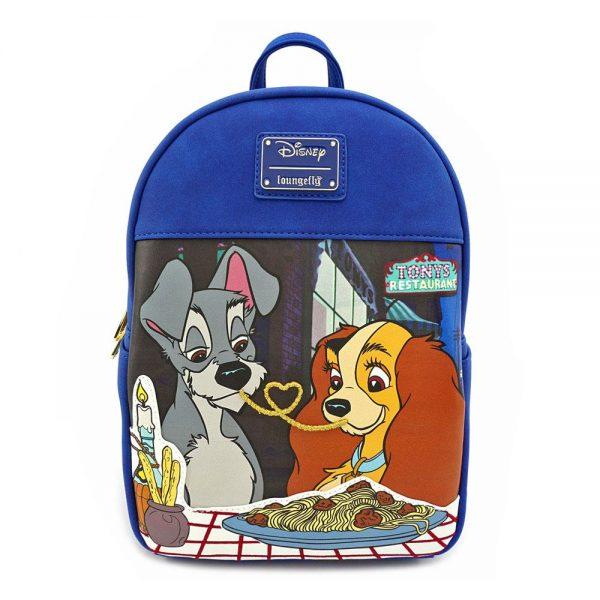 Disney by Loungefly sac à dos Mini La Belle et le Clochard