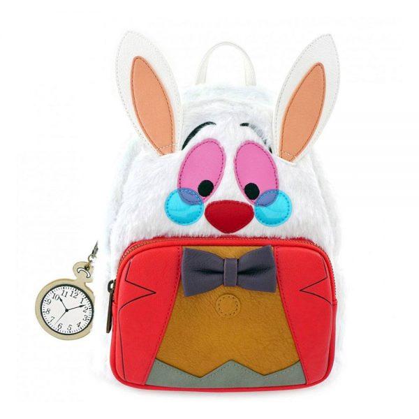 Disney by Loungefly sac à dos Alice au pays des merveilles White Rabbit
