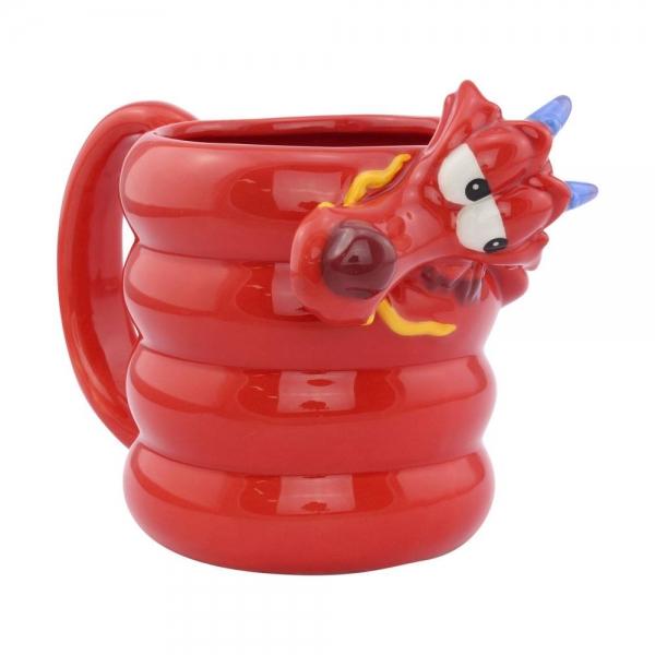 DISNEY: Mulan mug Shaped Mushu
