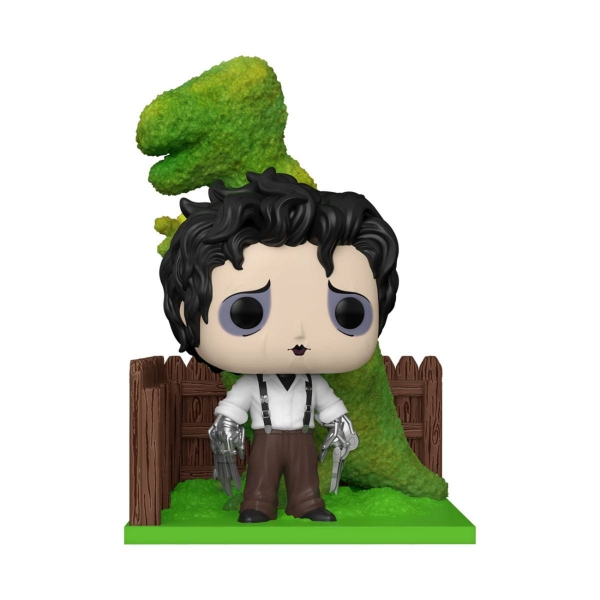 Edward aux mains d´argent POP! Deluxe Vinyl figurine Edward & Dino Hedge