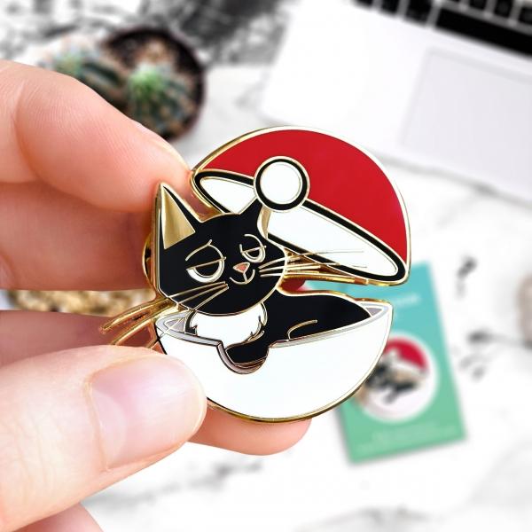 Pokemon : Pin's if Jackson were a Pokemon – Art by Amay Sancha