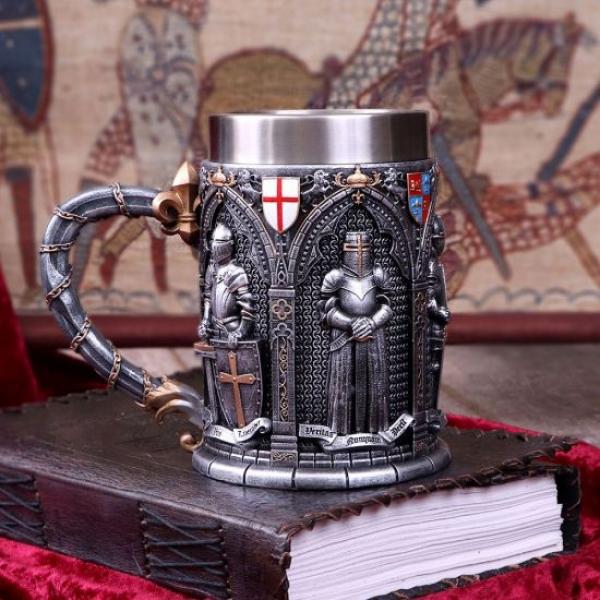 Chope résine Medieval Knights