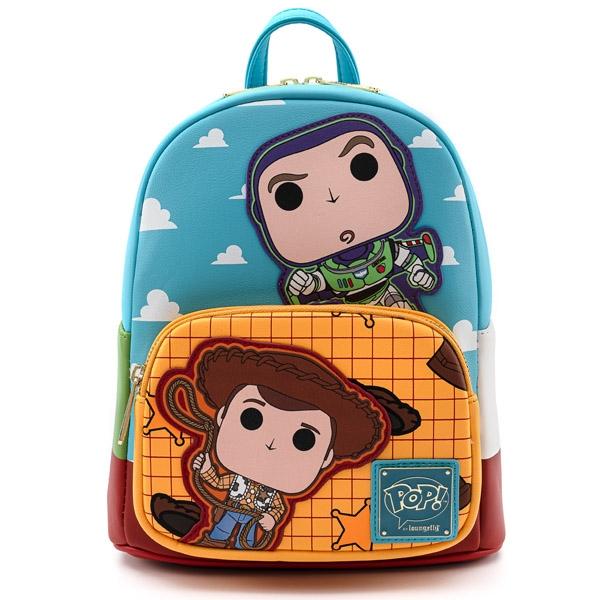 Disney Loungefly Mini Sac A Dos Toy Story Buzz & Woody version POP