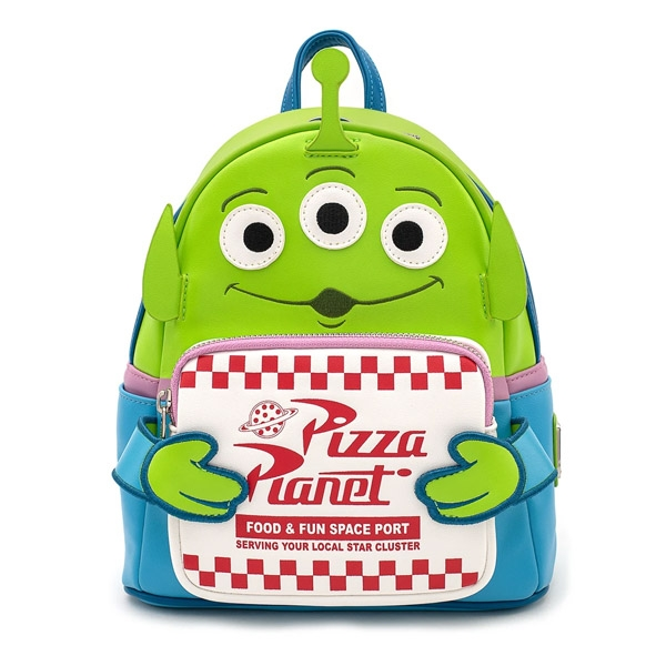Disney Loungefly Mini Sac A Dos Toy Story Alien Pizza Planet