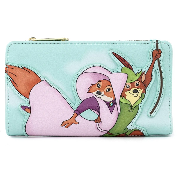 Disney Loungefly Portefeuille Robin Hood Robin Rescues Maid Marian
