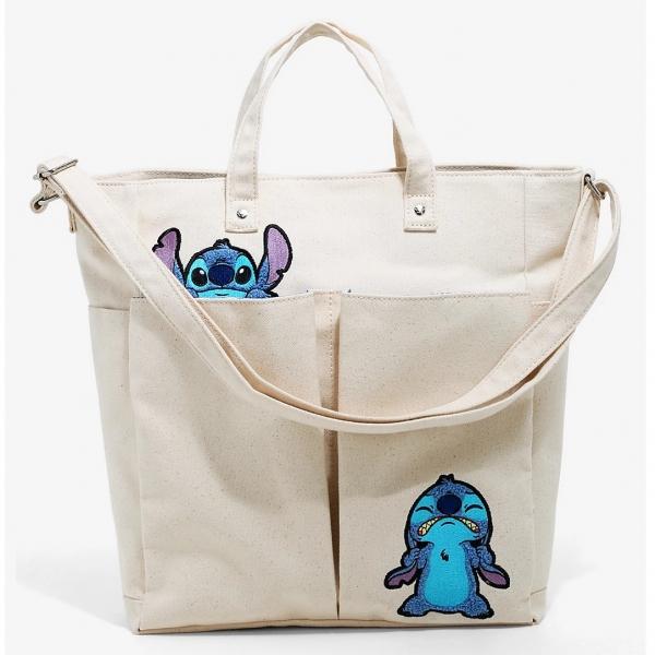 Disney Loungefly Stitch Sac Tote Bag Tissu Exclu Europe