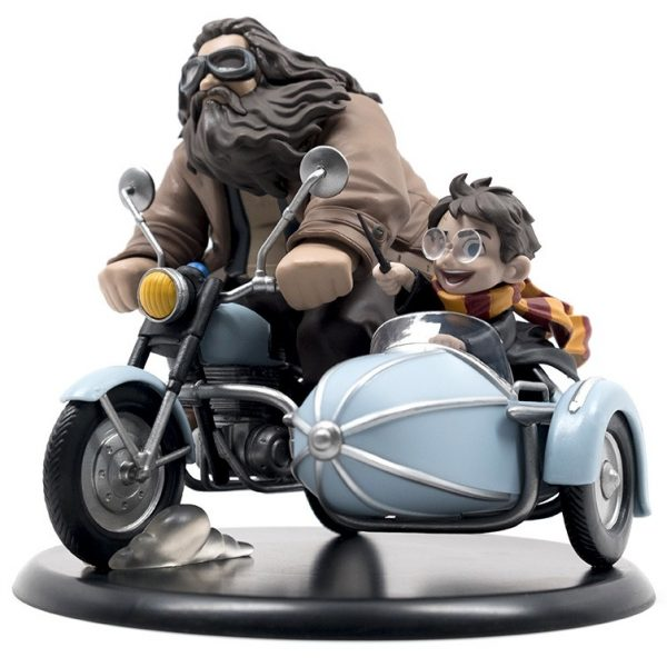 Harry Potter diorama Q-Fig MAX Harry Potter & Rubeus Hagrid 15 cm